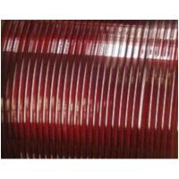 Flat Enamelled Copper Winding Wire Single Sided Self - Adhesive For Transformers Manufactures