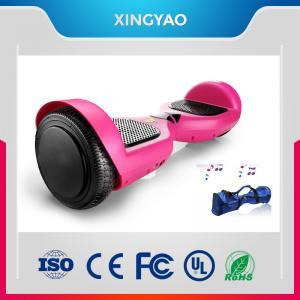 China 6.5 Self Balancing Wheel Board Electric Pink Battery Powered on sale
