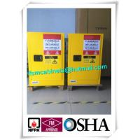 Double Wall Construction Industrial Storage Cabinets / Chemical Storage Cupboards Manufactures