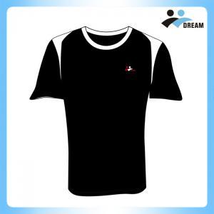 China supplieer cheap dry fit polyester custom short sleeves t shirt, custom logo t-shirt, running jersey custom Manufactures