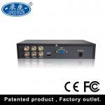 TVI CVI CCTV 4CH Color Quad Processor With High Performance Freeze / Zoom Function Manufactures