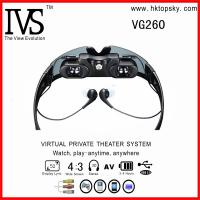 52inch virtual reality glasses eyewear with AV input for iphone, ipod, game cube Manufactures