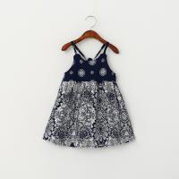Quality Wholesale Baby Girls Dress slip floral pattern dress children customizable clothing for sale