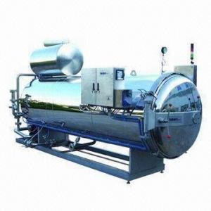 ASME Design Autoclave Pouch Food Retort Sterilizer Manufactures