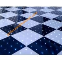 China Stage  Lighting  8W Star LED  Dance Floor  60x60cm  Aluminum Panel  RGB 3 in 1 Color on sale