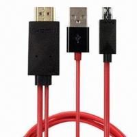 MHL to HDMI® Adapter Cable for Samsung Galaxy S3/SIII/I9300, Galaxy Note 2 Manufactures