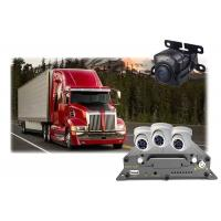 Buy cheap GPS Mobile DVR Camera 4 Channel , School Bus Mobile Car DVR Recorder from wholesalers