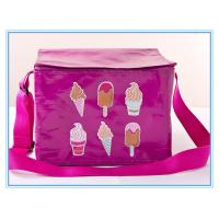 China Food 6 Can Insulated Cooler Bags Laminated Pp Woven Outdoor Fitness With Aluminum on sale
