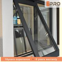 Horizontal Aluminium Awning Windows Swing Open Style 1-2MM Profile Thickness Manufactures