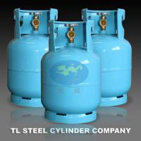 3kg / 7.2L Empty Liquefied Gas Cylinders tanks For West Africa Manufactures
