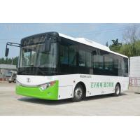 China Man CNG Minibus Compressed Natural Gas Vehicles , Rear Engine CNG Passenger Van on sale