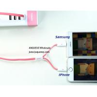 Quality Remax 2 in 1 Data Cable For Iphone And Micro USB Charging Data Cable for sale