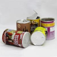 Aluminum Foil Liners Paper Cylinder Containers Peel Foil Lid Nuts Packaging Manufactures