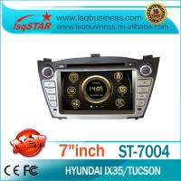 China GPS Navigation Hyundai DVD Player With HD Touch Screen on sale