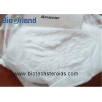 China Androgenic Anabolic Steroids Anavar Oxandrolone White Crystalline Powder CAS 53-39-4 on sale