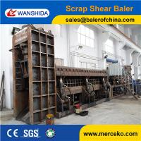 Hydraulic Waste Scrap Metal Baler Shear Supplier to cut and packing waste copper & aluminum with 5m Press Room Manufactures