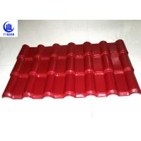 China 3 Layers Heat Insulation Color Stable Pvc Resin Roof Tile Strong Capacity 100kg on sale