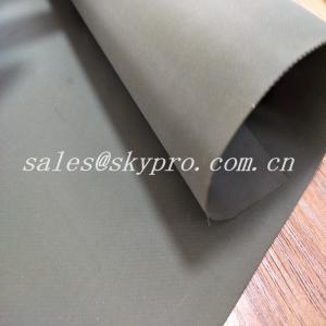 Buy cheap Custom Wear Resistant Hypalon Rubber Sheet Neoprene Fabric Roll , Hardness 68±5 from wholesalers