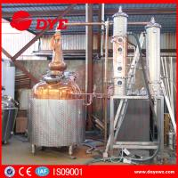 China White Spirit Distillation And Alcohol Distillers Electric Hearting Or Steam Hearting on sale