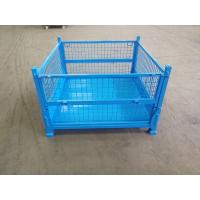 China Transportation Collapsible Pallet Bins / Folding Pallet Container High Performance on sale