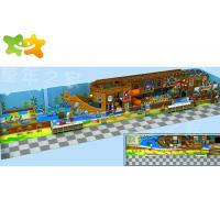 Children Pirate Ship Large Kids Indoor Playground Equipment Easy Maintain Manufactures