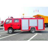 China Fast Rescue 4x2 95HP Water Tank Fire Fighting Truck , Light Duty Fire Tender Vehicle on sale