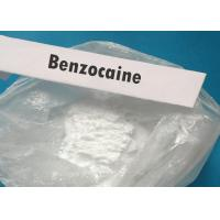 Raw Material Powder Local Anesthetic Agents Benzocaine For Bodybuilding Manufactures