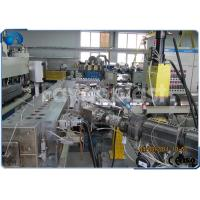 China PVC / PP / PE / ABS Profile Sheet Making Machine , Plastic Sheet Extrusion Machine on sale