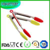 China Kitchen Cooking Silicone Salad Tongs on sale