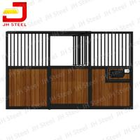 JingHua High Quality Bamboo Horse Stables Stall with sliding door Manufactures