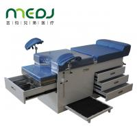 Multifunctional Gynecological Worktable Stainless Steel Medical Desk With Storage Cabinet Manufactures