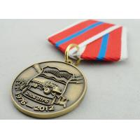 Souvenir Gift Zinc Alloy 3D Custom Medal Awards with Ribbon Two Sides Die Casting Manufactures