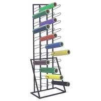 44 Vinyl Rolling Industrial Metal Display Stands with Wire Arms Manufactures