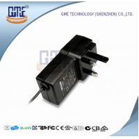 UL AC DC Switching Power Supply with UK Style Plug , Wall Mounted Mobile Power Supply Manufactures