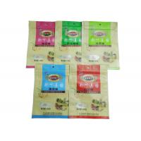 Custom Printed Snack Packaging Bags / Zipper Pouches For Packing Food Back seal bag Manufactures