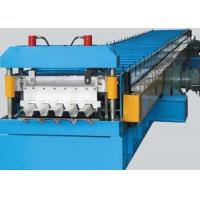 Color Steel Metal Deck Roll Forming Machine 0.8 - 1.2mm Thickness 30KW Manufactures