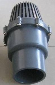 pvc foot valves Manufactures