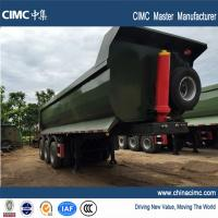 40 tons hydraulic tipping semitrailer for sales in Uganda Manufactures