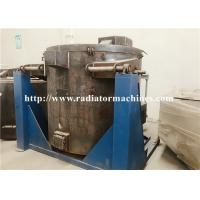 Quality 1000kg Aluminum Titling Electric Crucible Melting Furnace 1.7*1.6*1.4m Dimension for sale
