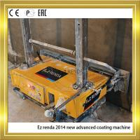 Ez renda Mortar Concrete Plastering Machine With Single Phase