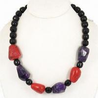 Hematite Magnetic/Bead Necklace, Nature Stone with Hematite for Female, Energy Jewelry Manufactures