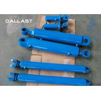 Customized Telescopic Double Acting Cylinder for Excavator / Trailer / Truck Manufactures