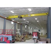 Electric Travelling Overhead Crane Wireless Remote Control 10 Ton Single Girder Manufactures
