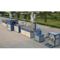 PVC Fiber Reinforced Soft Plastic Pipe Making Machine For Graden Horse Manufactures