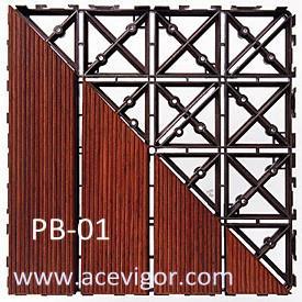 PB-01 PP plastic interlock floor mats Manufactures
