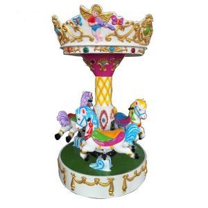 Indoor Playground Kids Arcade Machine Soft Play Carousel Rides 280KG Weight Manufactures