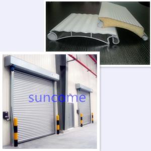 White Panel Automatic Roller Door Roller Shutter Door 304 Stainless Steel Manufactures