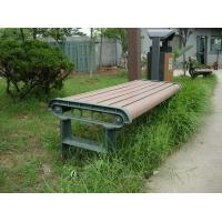 Anti - deformation Composite Outdoor Furniture WPC Bench With High Impact Resistant Manufactures