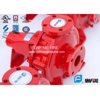 FM Approved End Suction Fire Pump 400GPM / 155PSI For Pipelines Bureaus Manufactures