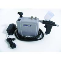 Auto Stop Adjustable Airflow Professional Airbrush Tanning Kit with Braided Air Nozzle Manufactures